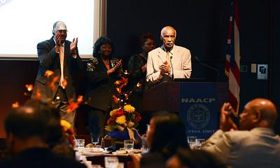 Robert K. Jones is a recipient of a NAACP Community Service Award. KRISTIN BAUER | CHRONICLE