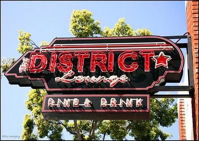 District Lounge Orange, CA.