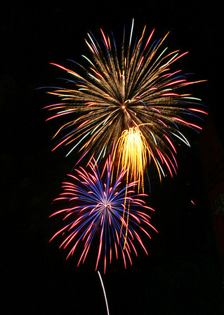 Fireworks Mission Viejo, CA 4th of July 2008