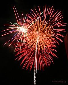 Fireworks 2007 Mission Viejo, CA.