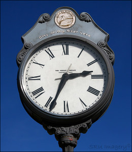 Clock in Big Bear