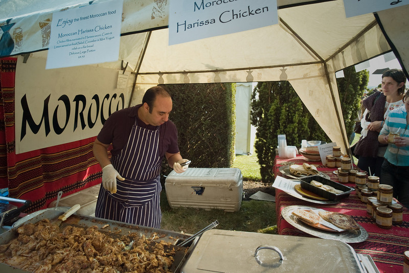Morocco: Festival of Food, Glynde Place, 2007. <br /> M8, CV15mm.