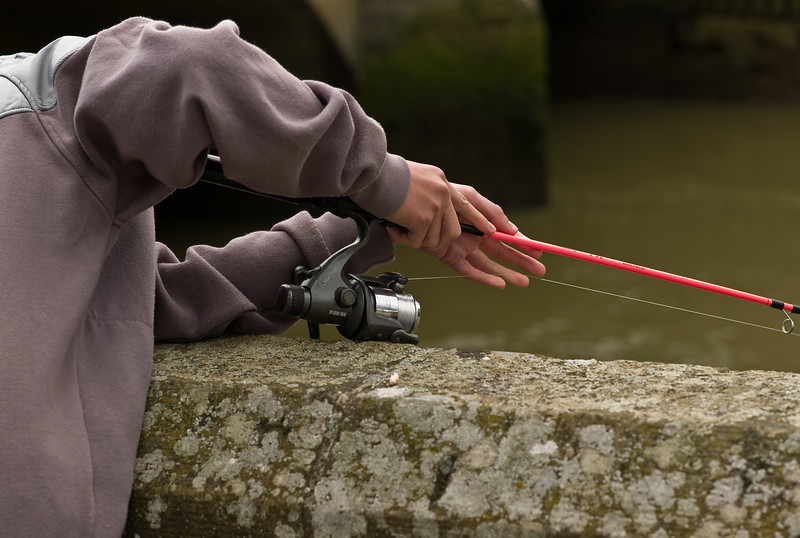 Young angler, Arundel, 2008.<br /> M8, 75mm Summarit.