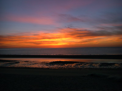 Baja beach sunrise