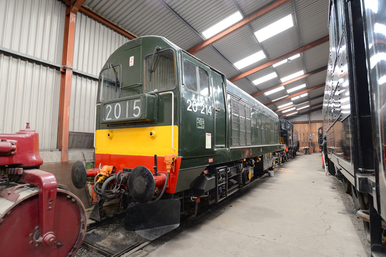 20214, Lakeside and Haverthwaite Railway. 21/05/15.
