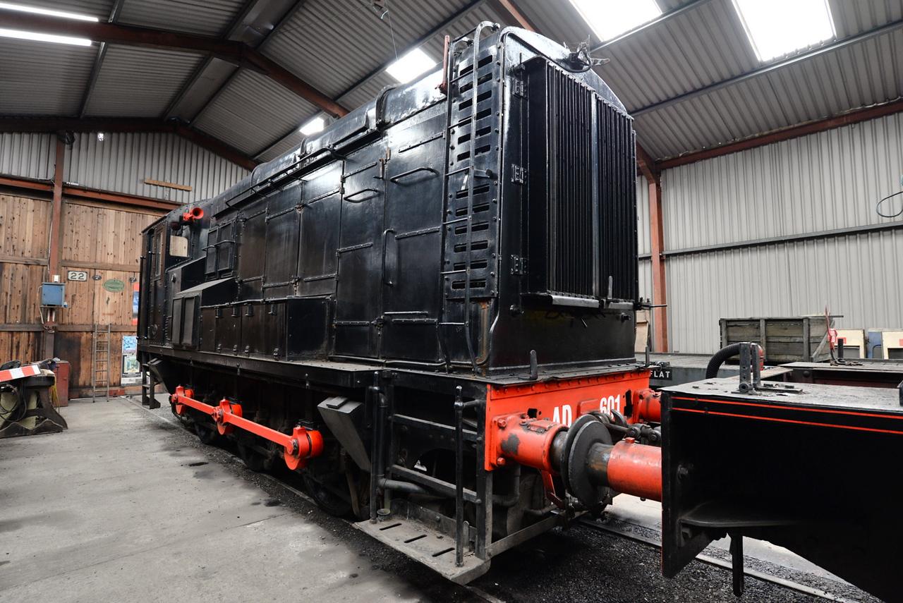 AD 601, Lakeside and Haverthwaite Railway. 21/05/15.