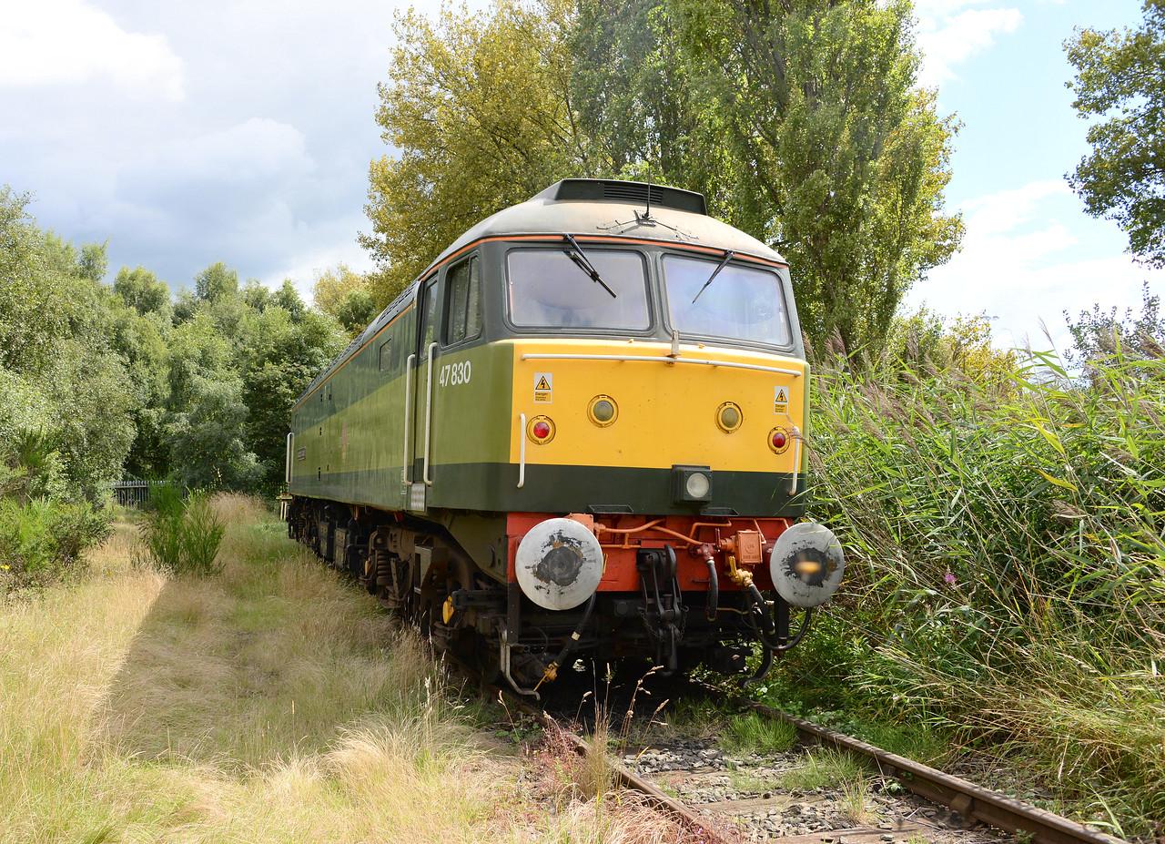 47830, Arpley Junction 'Football Sidings'. 09/08/17.