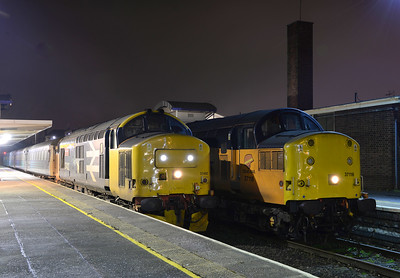 37402 and 37116, Barrow in Furness. 26/01/17.