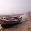 Leigh on Sea is Essex, UK. Taken on a bright but foggy day