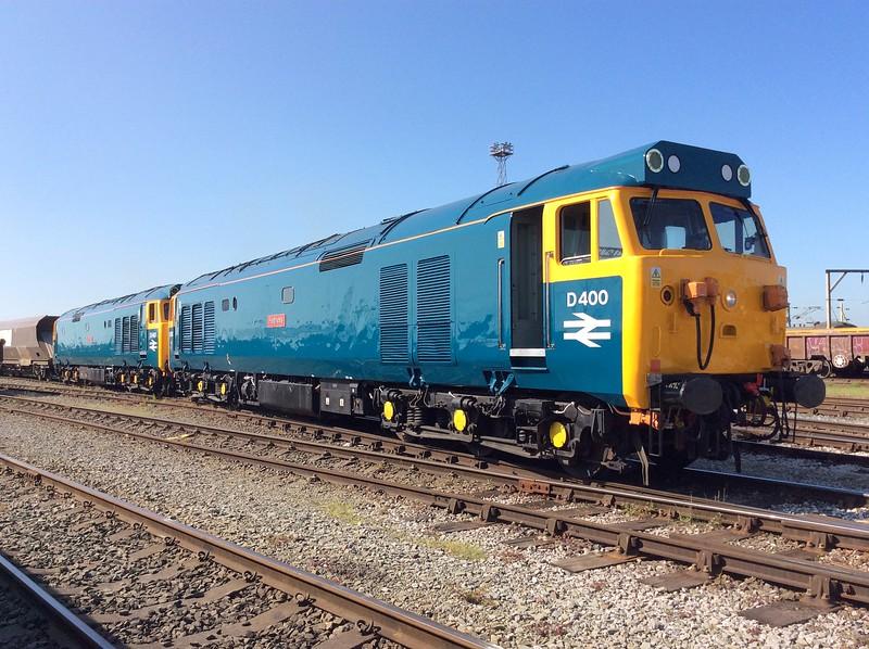 50050 and 50007, Crewe Basford Hall. 24/05/16.