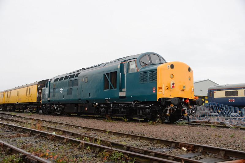 37116, Crewe Diesel Depot. 28/10/15.