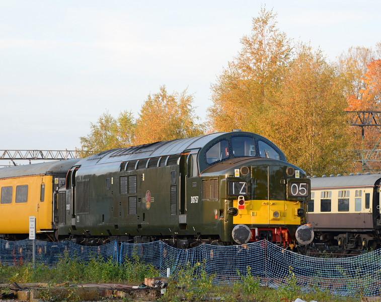 37057, Crewe Diesel Depot. 28/10/15
