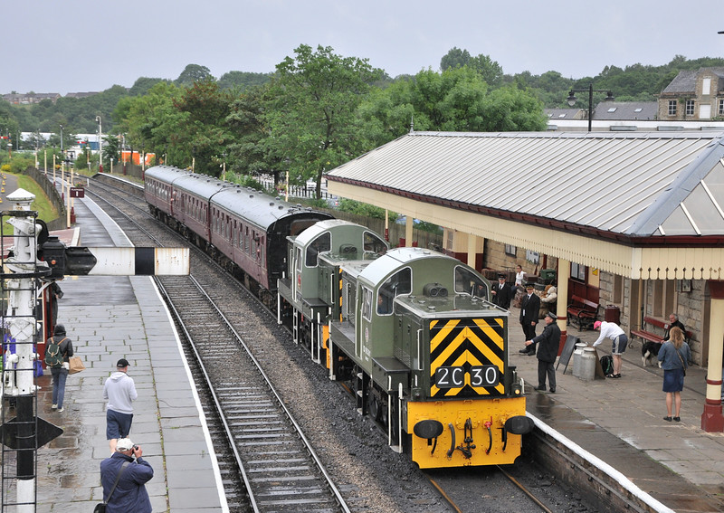 D9531 and D9539. Ramsbottom. 05/07/14.