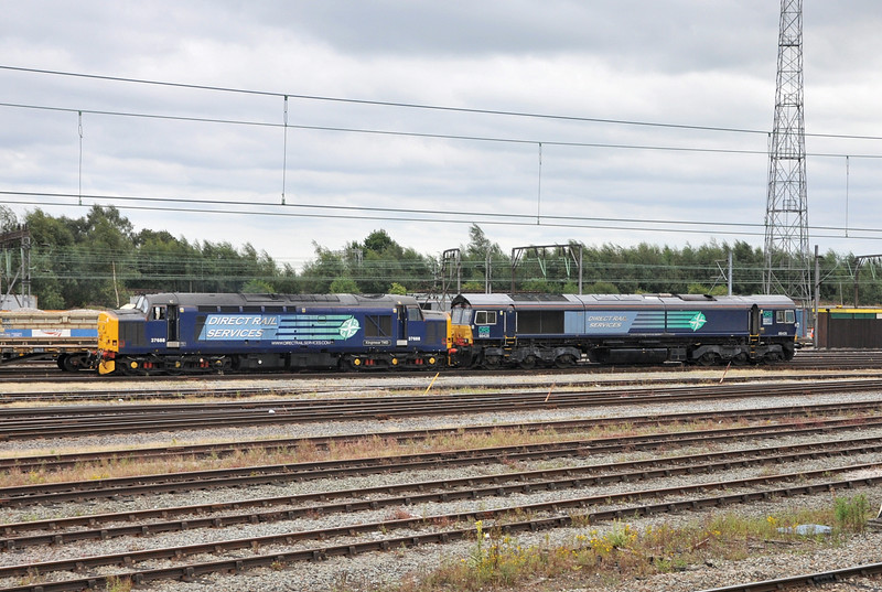 37688 and 66428, Crewe Basford Hall. 05/08/14.
