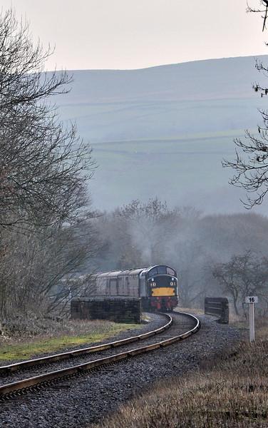 D335, Irwell Vale. 08/03/14.