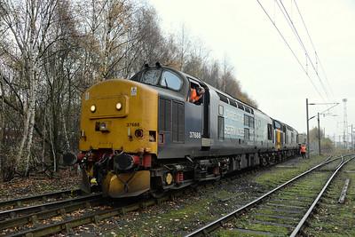 37688 and 37610, Crewe Coal Sidings. 20/11/14.