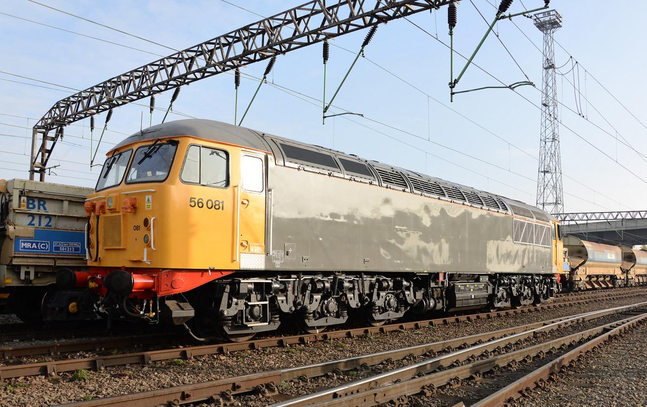 56081, Crewe Basford Hall. 20/11/14.