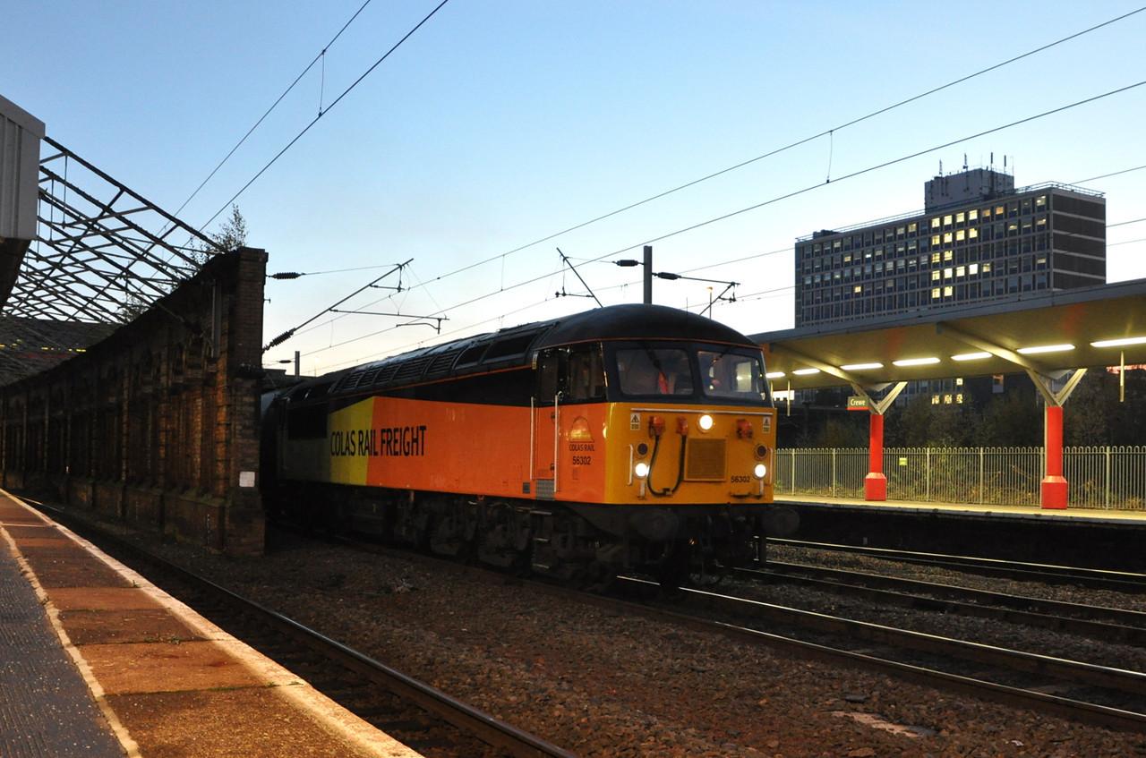 56302, Crewe. 25/11/13.