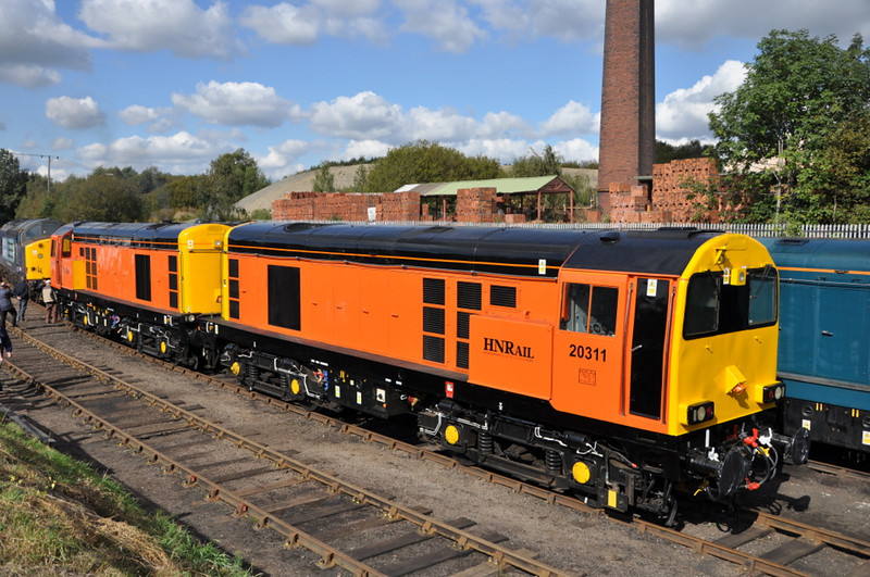 20311 and 20314, Barrow Hill. 22/09/12.