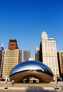 """Cloud Gate"" a.k.a. ""The Bean"" - Chicago"
