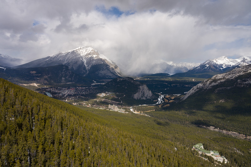 View from Sulphur Moutain, Banff, Canada