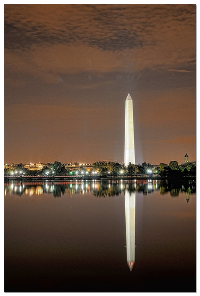 The Washington Monument blend of 9 images