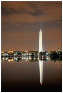 The Washington Monument blend of 9 images