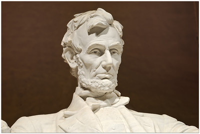 """Lincoln Memorial: """"With malice toward none; with charity for all; with firmness in the right, as God gives us to see the right, let us strive on to finish the work we are in; to bind up the nation's wounds ..."""""""