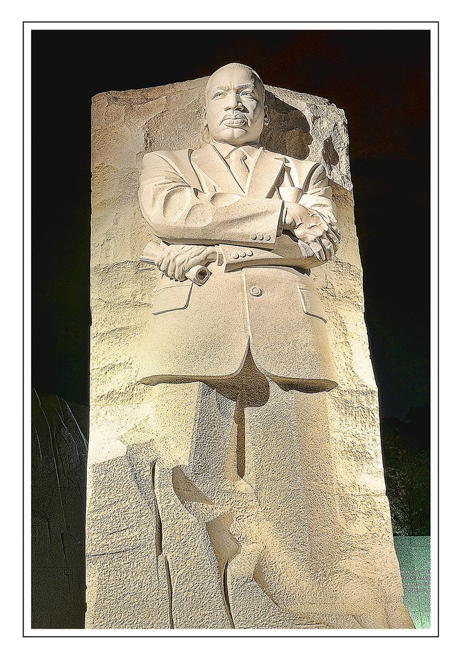 """Mrtin Luther King Monument """"I have a dream today"""""""