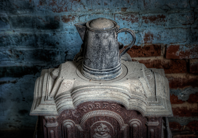 Coffee Pot on Stove - Bodie, CA
