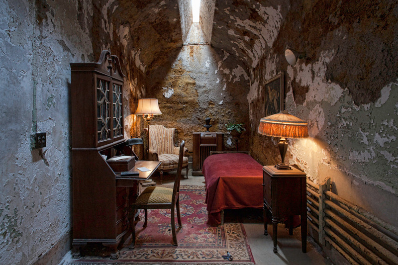 Al Capone's Cell - Eastern State Penitentiary, PA