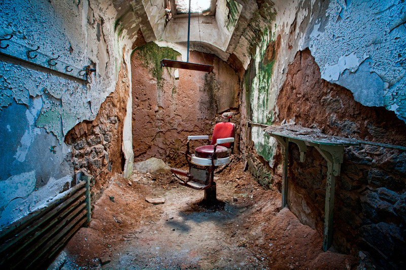 Barber Chair - Eastern State Penitentiary, PA