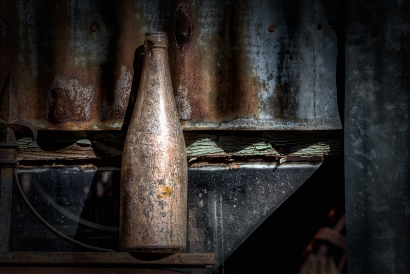 Old Bottle - Jerome, AZ