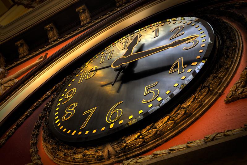 Train Station Clock - Nashville, Tennessee