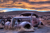 Old Chevy at Sunset - Bodie, CA