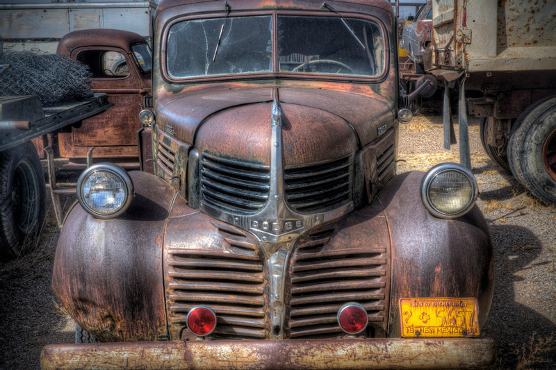 Dodge Pickup (1947ish) - Moriarty, New Mexico