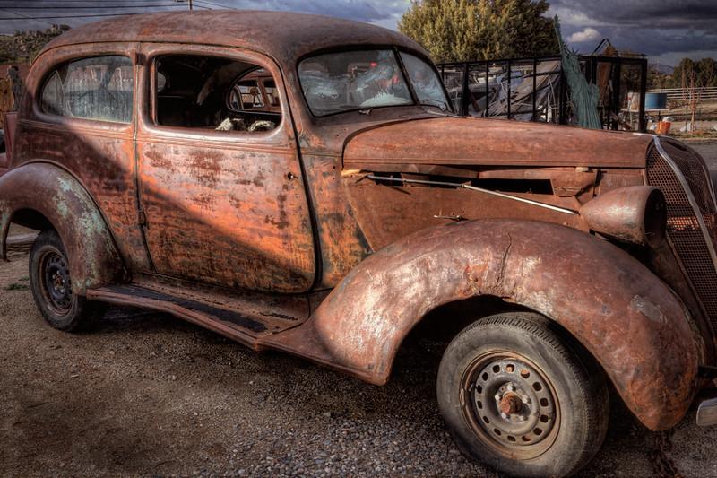 Rusted Hulk - Yarnell, AZ