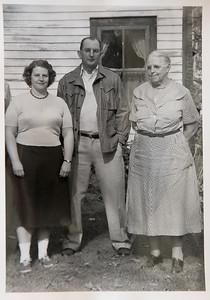 Aunt Betty, Uncle Willie, Grandma Jenny, Saratoga Springs, NY