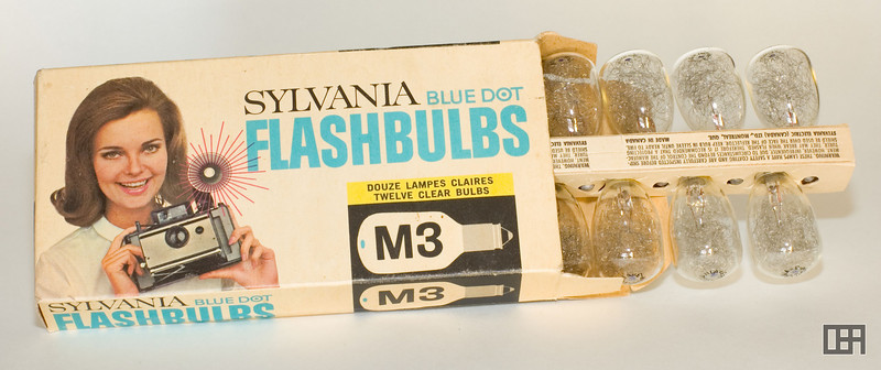 Sylvania Blue Dot M3 Flash Bulbs