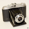Agfa Isolette I with the Agfa Agnar lens (f/4.5 85mm), 1952-1958