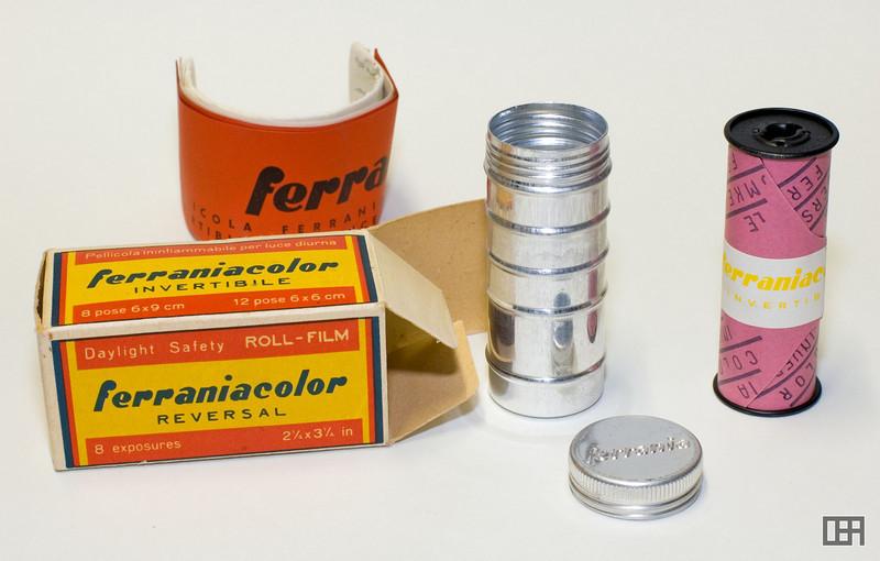 FerraniaColor Reversal Roll-Film