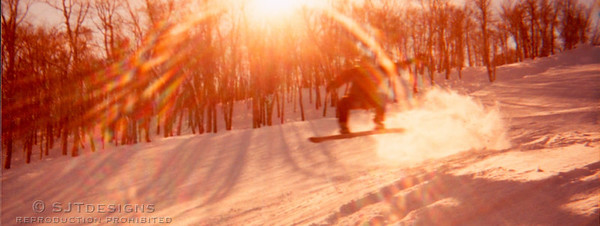snowboarding at stowe Photo: Brent Teske Rider: Scott Teske