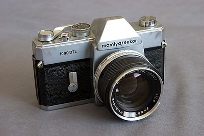 Mamiya/Sekor 1000 DTL 35mm (1968).   One of two cameras I carried in Vietnam...