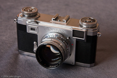 Contax IIA Rangefinder 35mm camera