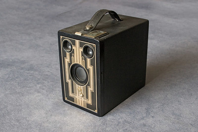 "Kodak Brownie Six-16 Camera.  Another model using 616 film for a 2 1/2 X 4 1/4"" picture size."