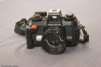 Nikonos IV 35mm underwater camera by Nikon.
