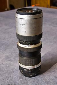 Sun Zoom 85-210mm f4.5 lens