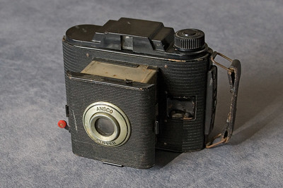 "Ansco Clipper camera also used 616 film.  It produced a picture 2 1/16 X 2 1/2"" in size."