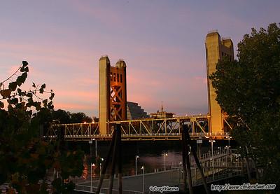 K st bridge, Sacramento California.