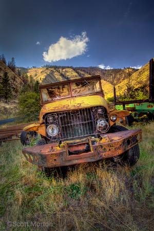 Retired Logging Truck – Riggins, ID